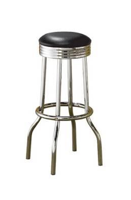 Chrome bar stool cocktail chair