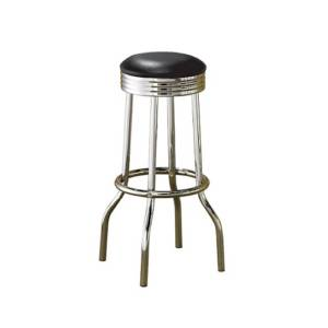 Chrome bar stool cocktail chair
