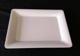Faux China Snack Plate