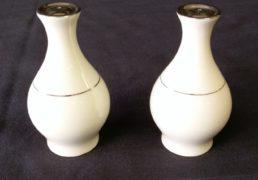 Ivory salt and pepper shaker