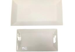 White China Rectangle Plates