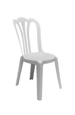 cafe Vienna, salem white wedding chair