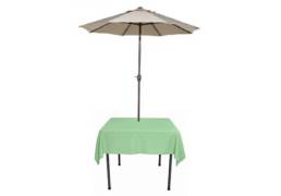celedon umbrella linens
