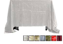 72x72 crush linen tablecloths