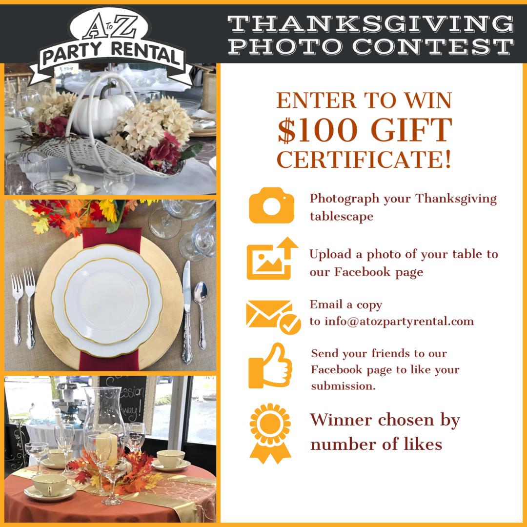 Thanksgiving Photo Contest