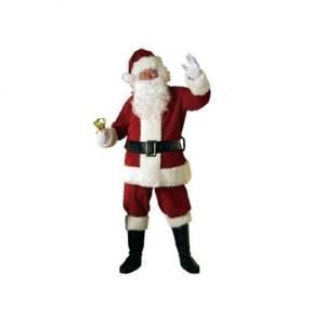 Velvet Santa Suit Rental
