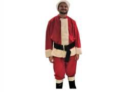 Department Store Santa Claus Costume Rental