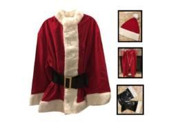 Standard Santa Claus Costume Rental